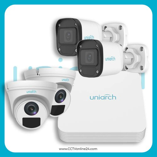 Paket CCTV Uniarch IP 2MP Lite Fixed 4CH