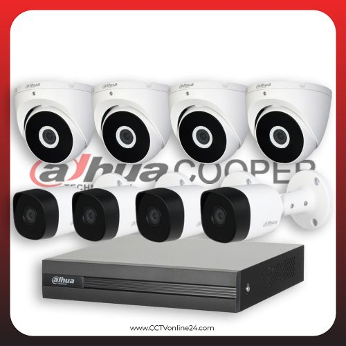 Paket CCTV Dahua Cooper 2MP Fixed 8CH