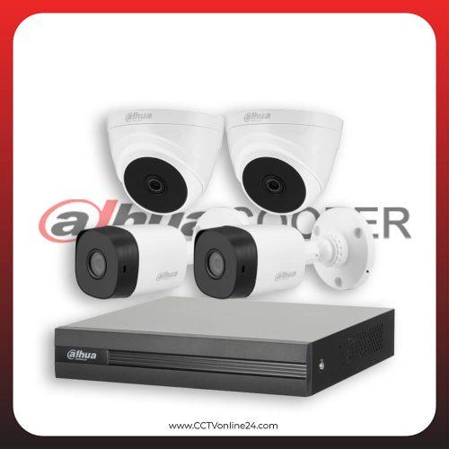 Paket CCTV Dahua Cooper 2MP Lite Fixed 4CH