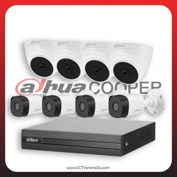 Paket CCTV Dahua Cooper 2MP Lite Fixed 8CH