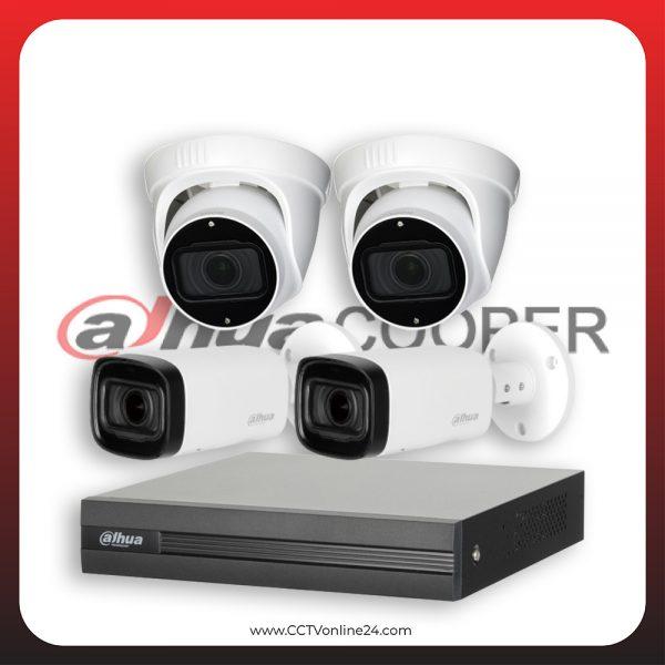 Paket CCTV Dahua Cooper 2MP Varifocal 4CH