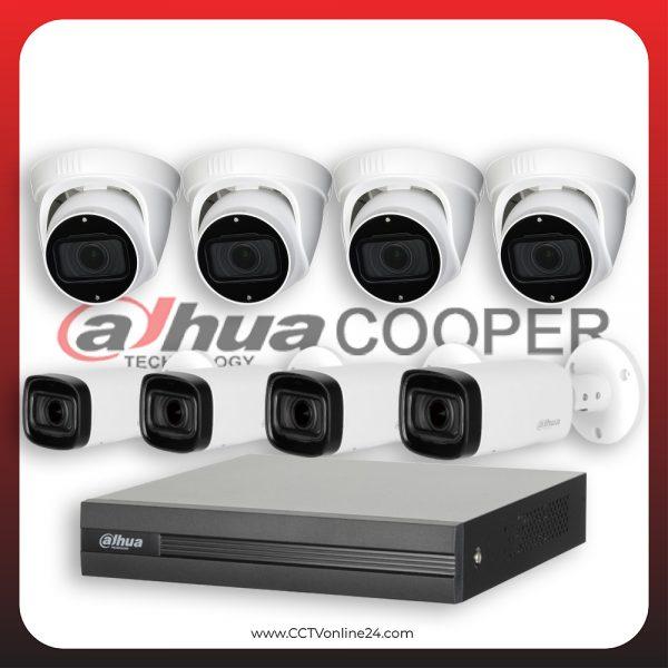Paket CCTV Dahua Cooper 2MP Varifocal 8CH