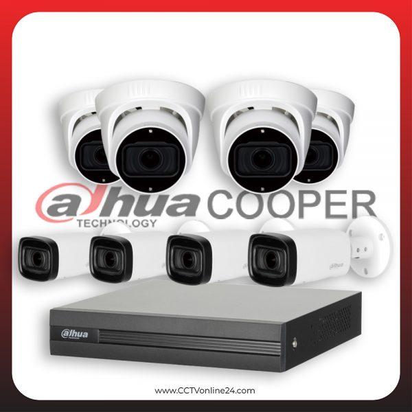 Paket CCTV Dahua Cooper 4MP Varifocal 8CH
