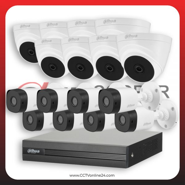 Paket CCTV Dahua Cooper 5MP Fixed 16CH