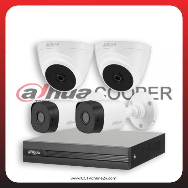 Paket CCTV Dahua Cooper 5MP Fixed 4CH