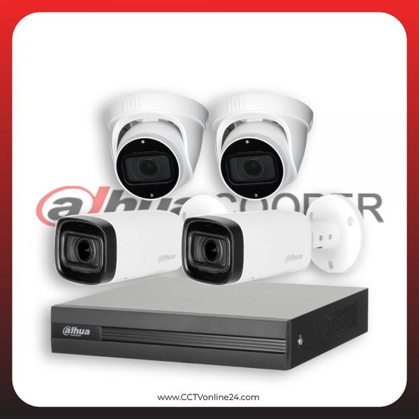 Paket CCTV Dahua Cooper 5MP Varifocal 4CH