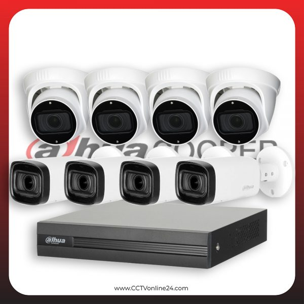 Paket CCTV Dahua Cooper 5MP Varifocal 8CH