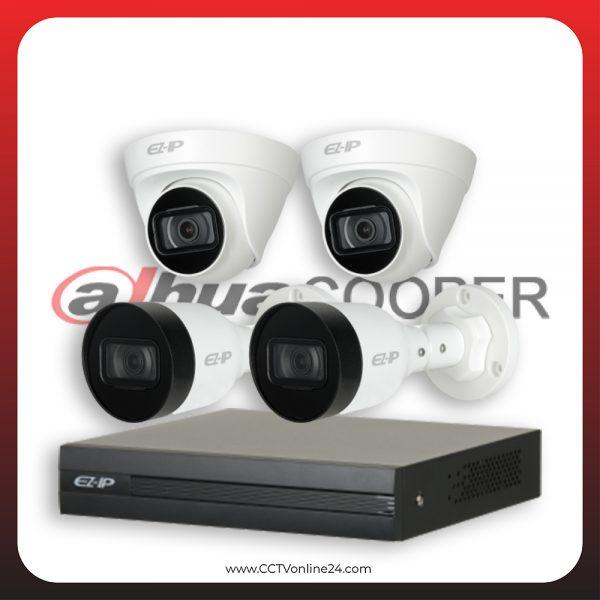 Paket CCTV Dahua Cooper IP 2MP Lite Fixed 4CH