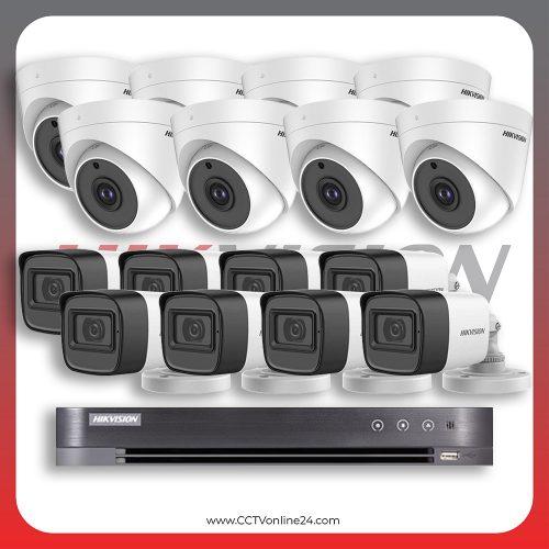 Paket CCTV Hikvision Analog HD 1.0 5MP Fixed 16CH