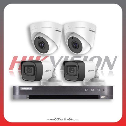 Paket CCTV Hikvision Analog HD 1.0 5MP Fixed 4CH
