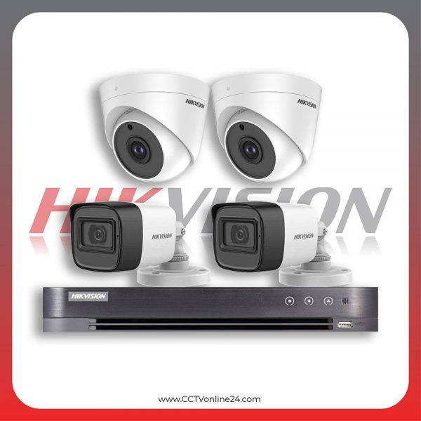 Paket CCTV Hikvision Analog HD 1.0 5MP Fixed 4CH
