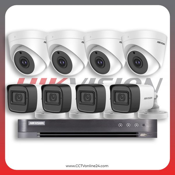 Paket CCTV Hikvision Analog HD 1.0 5MP Fixed 8CH