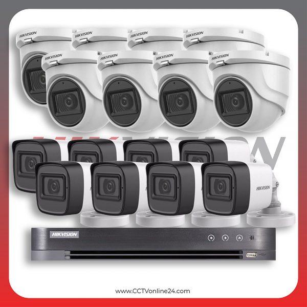 Paket CCTV Hikvision Analog HD 3.0 5MP Fixed 16CH