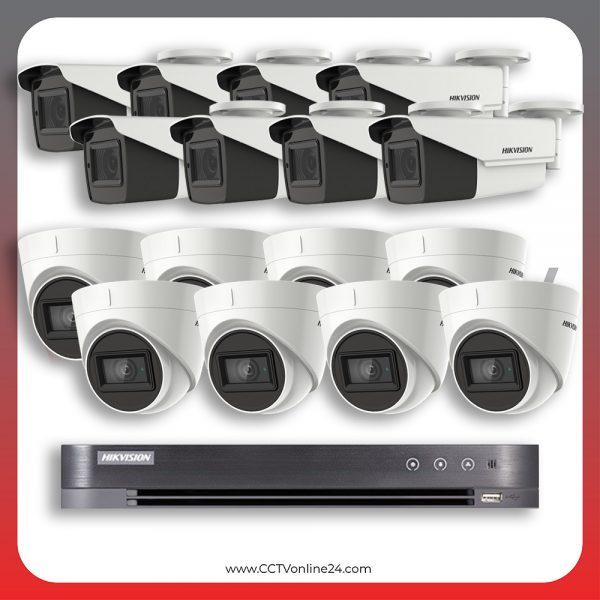 Paket CCTV Hikvision Analog HD 3.0 5MP Low Light Varifocal 16CH