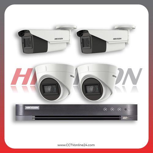 Paket CCTV Hikvision Analog HD 3.0 5MP Low Light Varifocal 4CH
