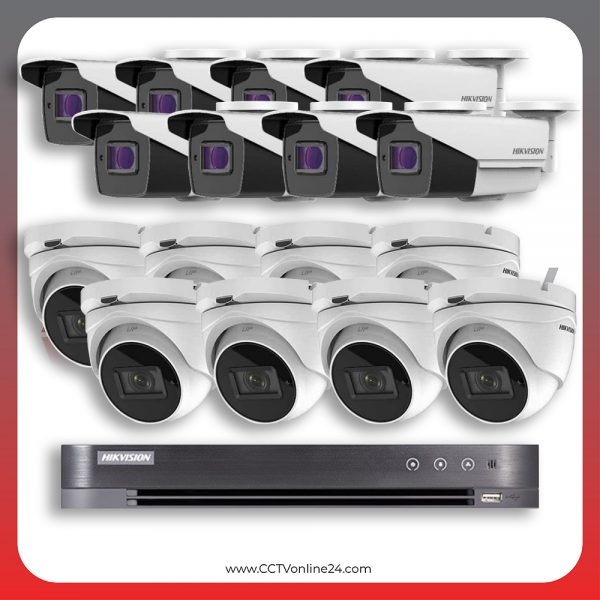 Paket CCTV Hikvision Analog HD 3.0 5MP Varifocal 16CH