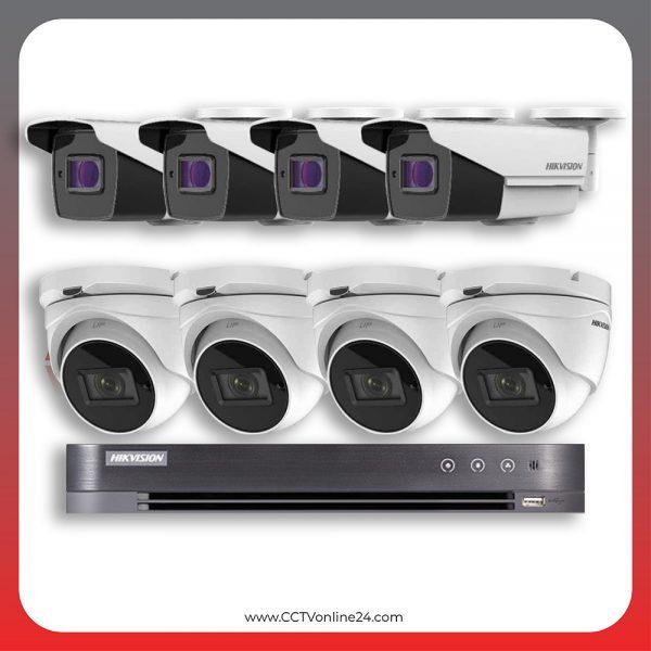 Paket CCTV Hikvision Analog HD 3.0 5MP Varifocal 8CH