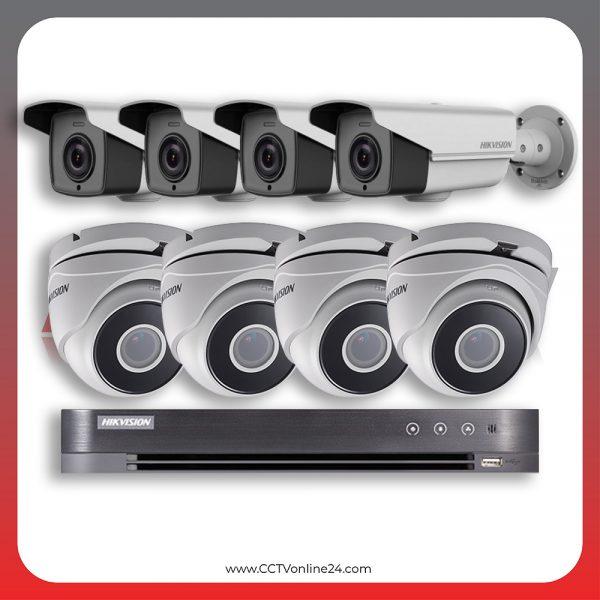 Paket CCTV Hikvision Analog HD 4.0 2MP Low Illumination Varifocal 8CH