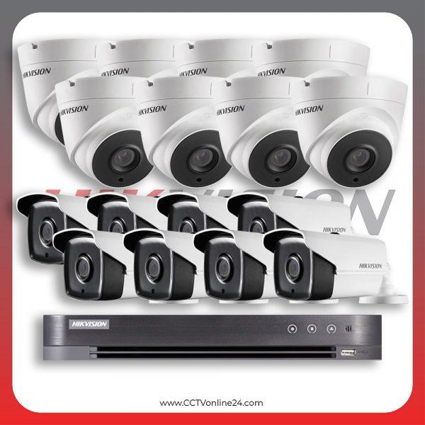 Paket CCTV Hikvision Analog HD 4.0 2MP POC Fixed 16CH