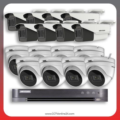 Paket CCTV Hikvision Analog HD 5.0 2MP Low Light Varifocal 16CH