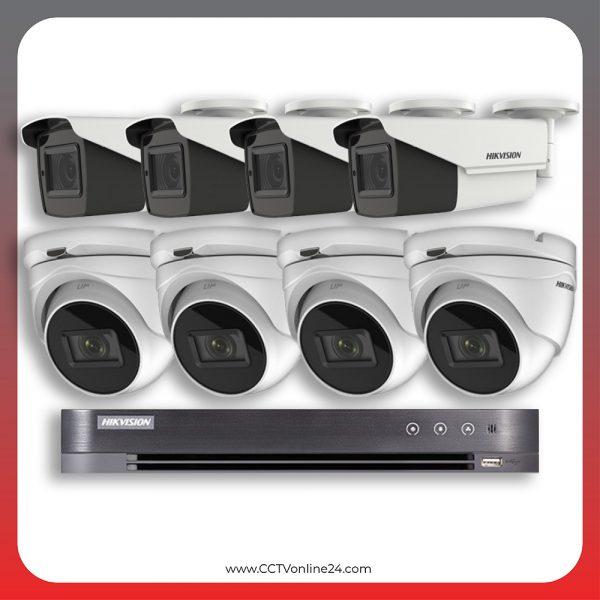 Paket CCTV Hikvision Analog HD 5.0 2MP Low Light Varifocal 8CH