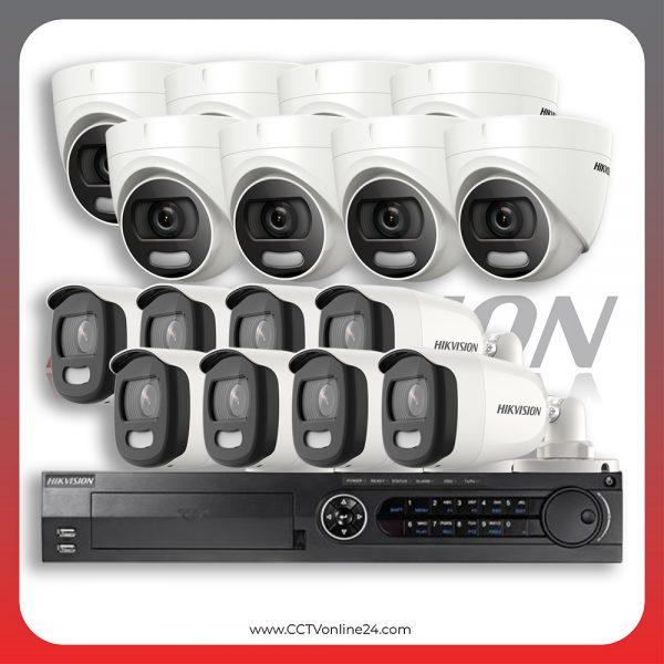 Paket CCTV Hikvision ColorVu 5MP Fixed 16CH