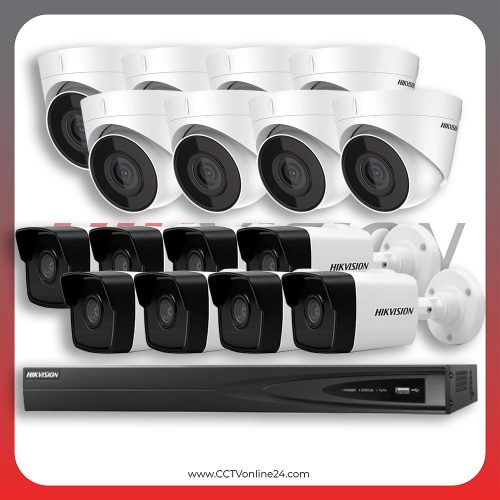 Paket CCTV Hikvision IP 1 Series 2MP Fixed 16CH