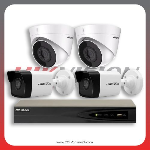 Paket CCTV Hikvision IP 1 Series 2MP Fixed 4CH