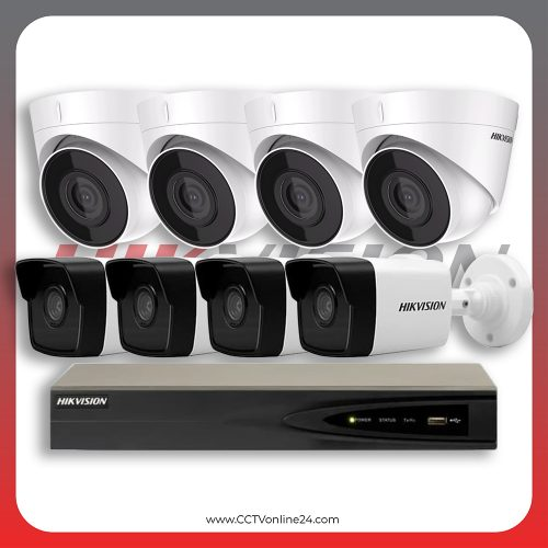 Paket CCTV Hikvision IP 1 Series 2MP Fixed 8CH