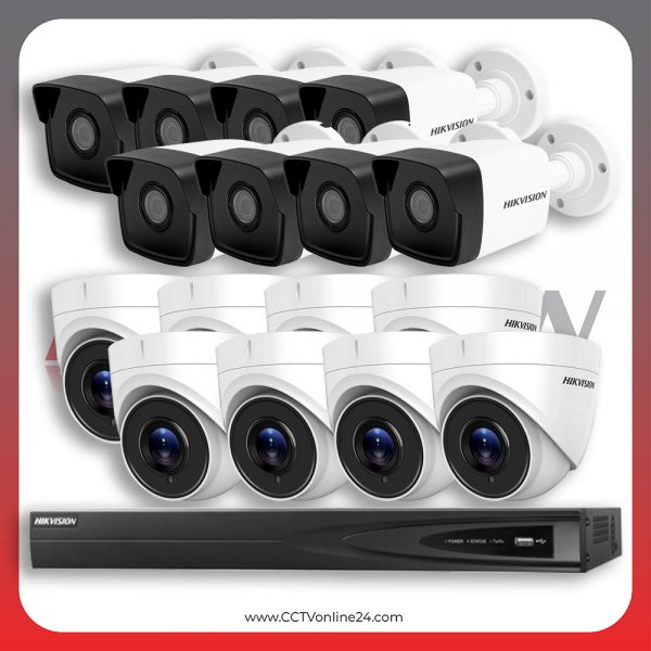 Paket CCTV Hikvision IP 1 Series 4MP Fixed 16CH