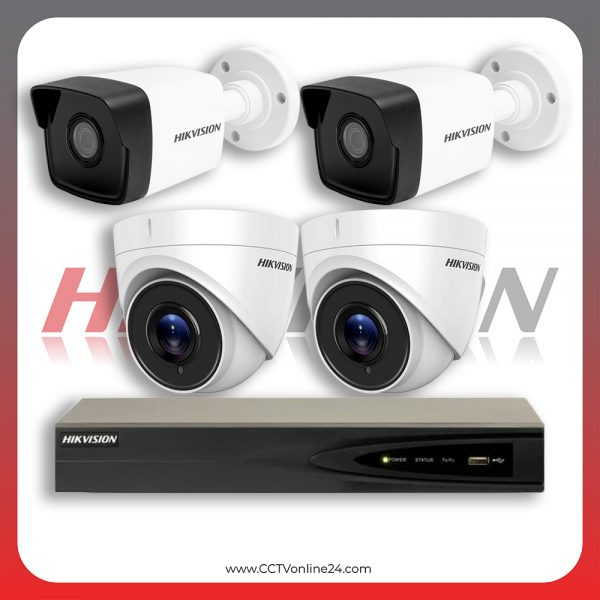 Paket CCTV Hikvision IP 1 Series 4MP Fixed 4CH