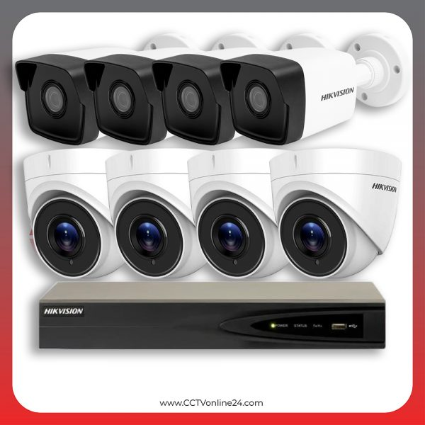 Paket CCTV Hikvision IP 1 Series 4MP Fixed 8CH