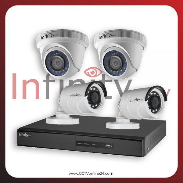 Paket CCTV Infinity 2MP Fixed 4CH