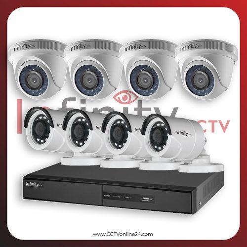 Paket CCTV Infinity 2MP Fixed 8CH