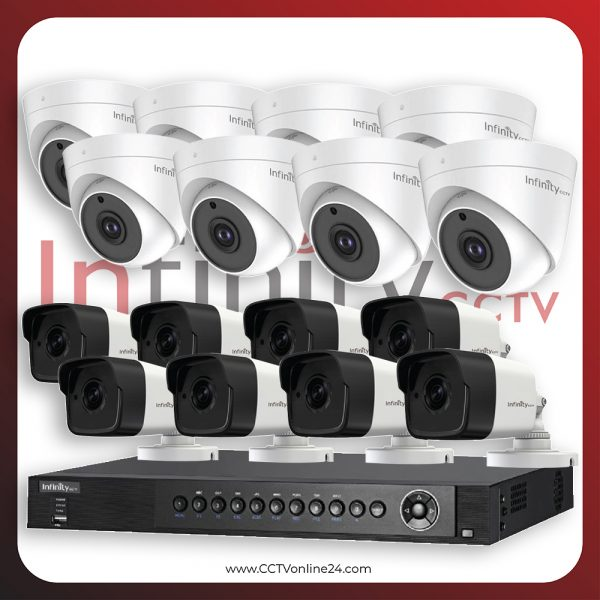 Paket CCTV Infinity 5MP Fixed 16CH