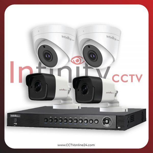 Paket CCTV Infinity 5MP Fixed 4CH