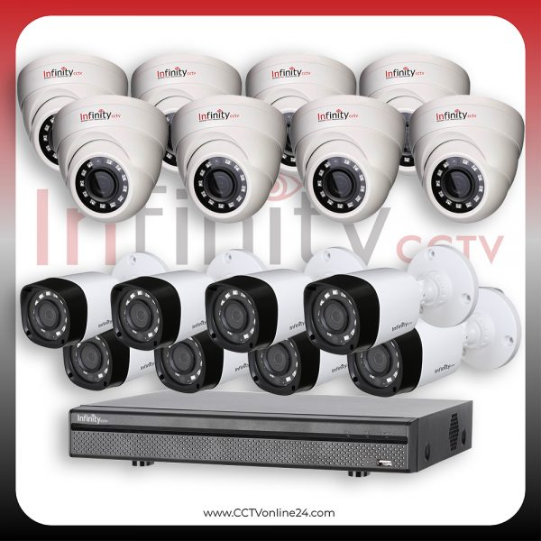 Paket CCTV Infinity Black Series 4MP Fixed 16CH