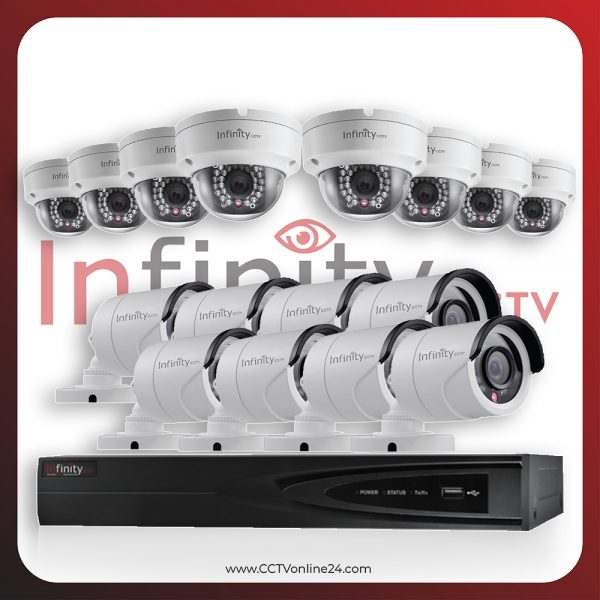 Paket CCTV Infinity IP 2MP Fixed 16CH