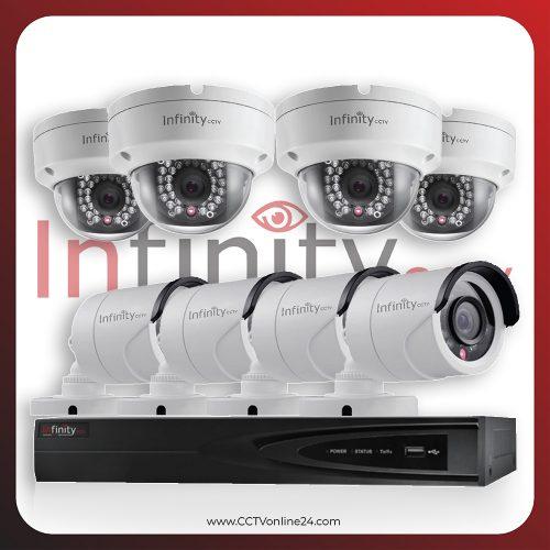 Paket CCTV Infinity IP 2MP Fixed 8CH