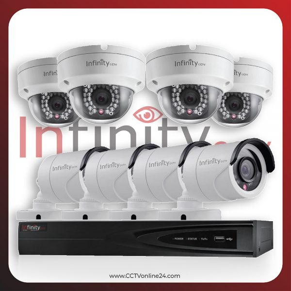 Paket CCTV Infinity IP 2MP Fixed 8CH