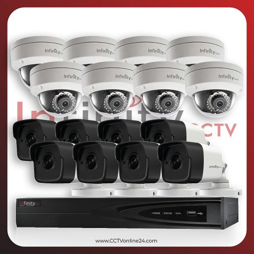 Paket CCTV Infinity IP 4MP Fixed 16CH