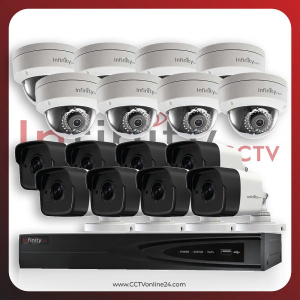 Paket CCTV Infinity IP 4MP Fixed 16CH