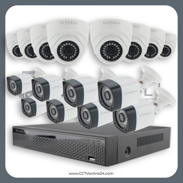 Paket CCTV Schnell 2MP Fixed 16CH