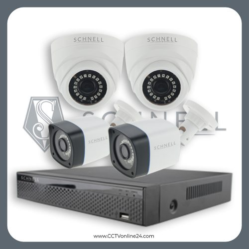 Paket CCTV Schnell 2MP Fixed 4CH