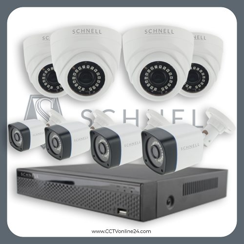 Paket CCTV Schnell 5MP Fixed 8CH
