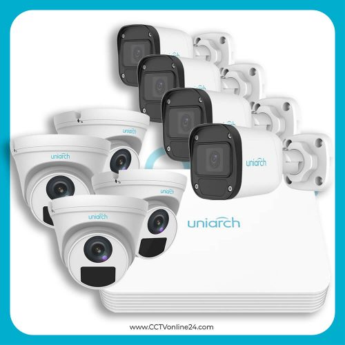 Paket CCTV Uniarch IP 2MP Lite Fixed 8CH