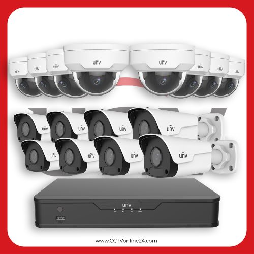 Paket CCTV Uniview IP 2MP Fixed 16CH