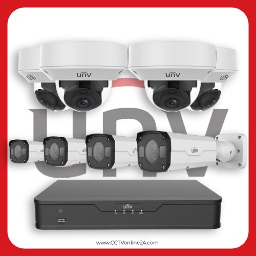Paket CCTV Uniview IP 2MP Varifocal 8CH