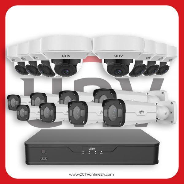 Paket CCTV Uniview IP 4MP Varifocal 16CH