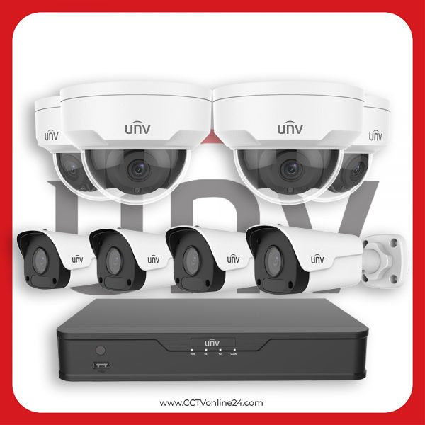 Paket CCTV Uniview IP 5MP Fixed 8CH